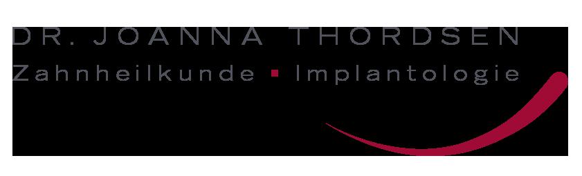 Zahnärztin Dr. Joanna Thordsen